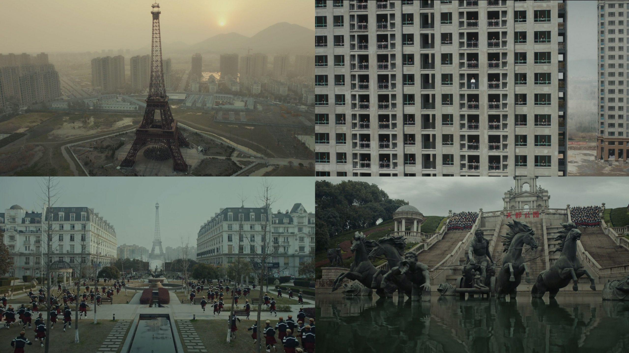 Provokatív lakásfények és a kínai álépítészet, avagy hogyan kommunikál építészetet a videóklip