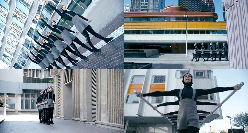 Sci-fi-brutalista és rózsaszín-labirintus építészet a YouTube-on, avagy hogyan kommunikál építészetet a videóklip